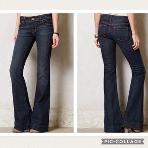 J Brand Love Story Flare Jeans size 27